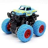 daidai Juguete para niños Verdes camión Monstruo inercia vehículo Todoterreno fricción vehículo eléctrico bebé niño supercoche camión de Bomberos Regalo de Juguete para niños