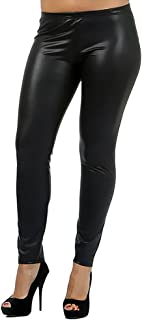 b0b1c8478cef5 World of Leggings® PLUS SIZE Matte Faux Leather Leggings - Made in the USA