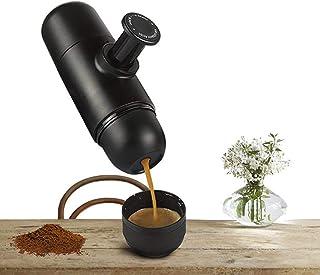 エスプレッソマシン 手動でプッシュ式 エスプレッソメーカー ミニエスプレッソ ハンドプレッソ 小型 handpresso コーヒーメーカー 互換コーヒー粉専用 電気不要 携帯便利 出張 キャンプに適用