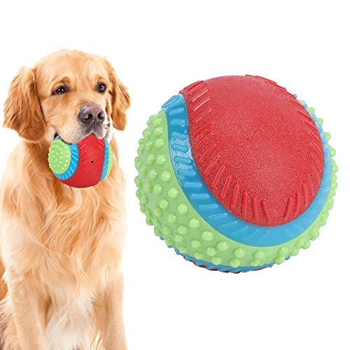 WEILafudong Juguete molar de juguete para masticar perro de juguete de goma para perros juguete interactivo adecuado para entrenamiento de seguridad de perro