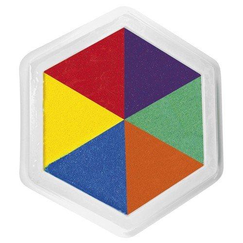 Coussin d'encre, 6 couleurs