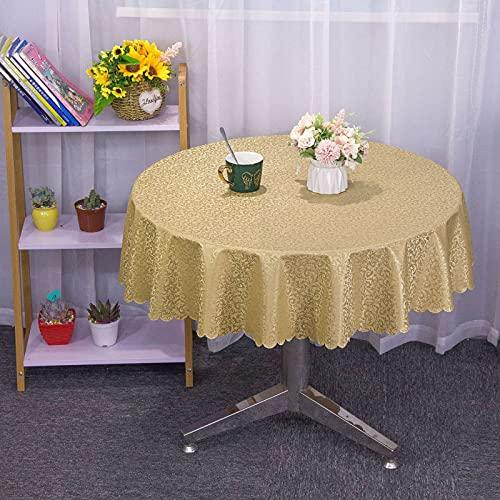 sans_marque Mantel de mesa, cubierta de mesa, funda de mesa lavable que se puede utilizar para decoración de mesa de cocina, mantel lavable de 180 cm (empalme)