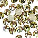Sunshine New Color SS3-SS30 Diamante de imitación para diseño de uñas Brillos de cristal sin fijación en caliente Etiqueta de vidrio de strass para manicura decoración de arte-SS5 1440PCS
