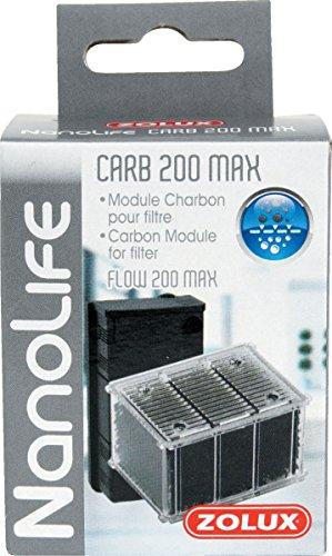 Zolux Module Charbon CARB 200 Max pour Filtre NANOLIFE Flow 200 Max