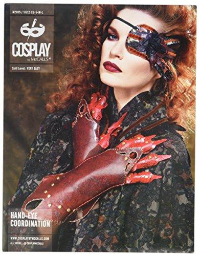 Cosplay von McCall 's Auge-Hand Koordination Patches/Handschuhe/Armschienen und Krallen, Mehrfarbig