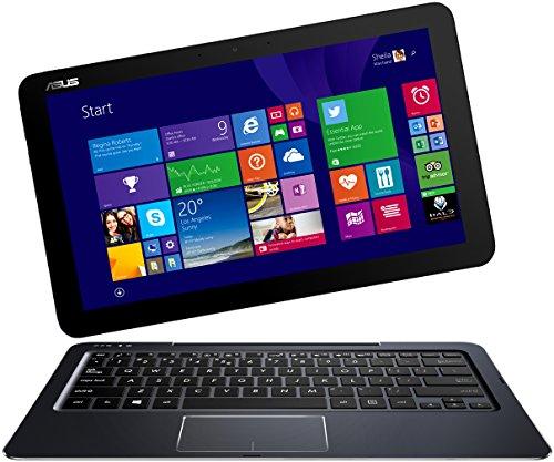 Asus Transformer Book T300CHI-FH011H 31,8 cm (12,5 Zoll) Convertible Tablet-PC (Intel Core-M-5Y10, 2GHz, 8GB RAM, 128GB SSD, Intel HD, Win 8.1) dunkelblau