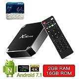 TV Stick SUNNZO X96 S400 Android 10.0 Dispositivo de transmisión 4K HDR 2.4Ghz con Controles de TV y Modo Anti Shake (2+16)