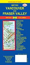 Vancouver 1:40,000 Street Map & Fraser Valley (BC, Canada)<