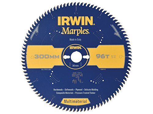 Irwin - Disco sierra circular 300mm/96t multiuso