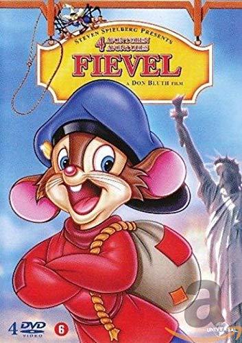 Feivel der Mauswanderer - Box 1 - 4 mit: 1 - Feivel der Mauswanderer / 2 - der Mauswanderer im Wilden Westen / 3 - Der Schatz von Manhattan / 4 - Das Ungeheuer von Manhattan Island (4 DVD Box Set)