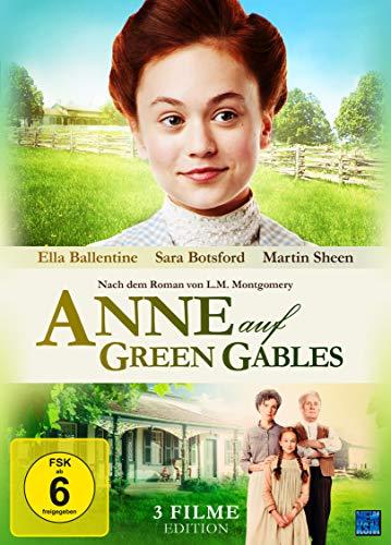 Anne auf Green Gables - Gesamtedition Teil 1-3 [3 DVDs]