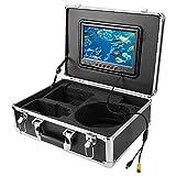Rodipu Caméra de Chasse sous-Marine HD 100M, caméra vidéo sondeur, TFT 9(European...