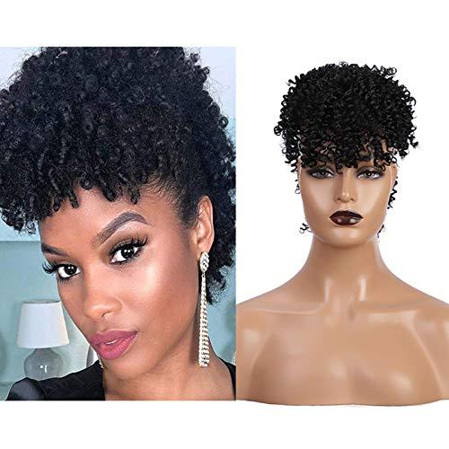 Afro ponytail wig _image2