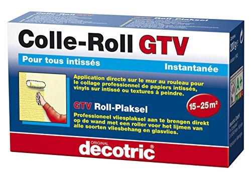 Colla GTV decotric roll per carta da parati in tessuto non tessuto, 200g, 020502183