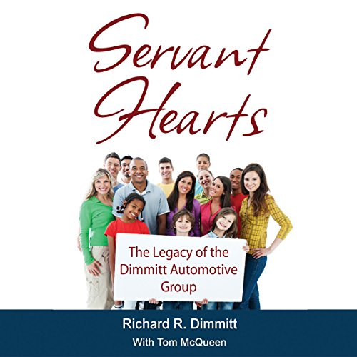 Servant Hearts audiobook cover art