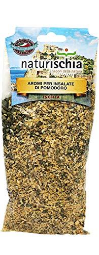 Naturischia - 3 confezioni di Aromi per insalate di pomodoro 100 gr. ciascuna - Prodotto tipico Ischia