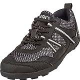 Xero Shoes Women's TerraFlex Lightweight Trail Running & Hiking Shoe - Zero Drop,Black,7