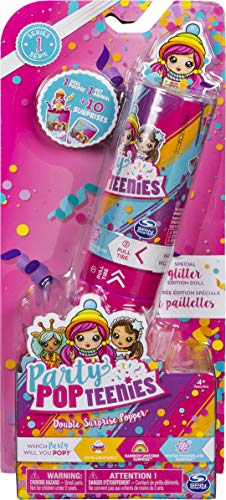 Party Popteenies- Doppia Sorpresa Poppers Giocattolo, Multicolore, 6044093