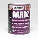 Zinsser Gardz - Sellador de alto rendimiento, base acuosa, 2,5l.