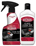 Weiman Ceramic and Glass Cooktop Cleaner - 10 Ounce - Stove Top Daily Cleaner Kit - 12 Ounce - Glass...