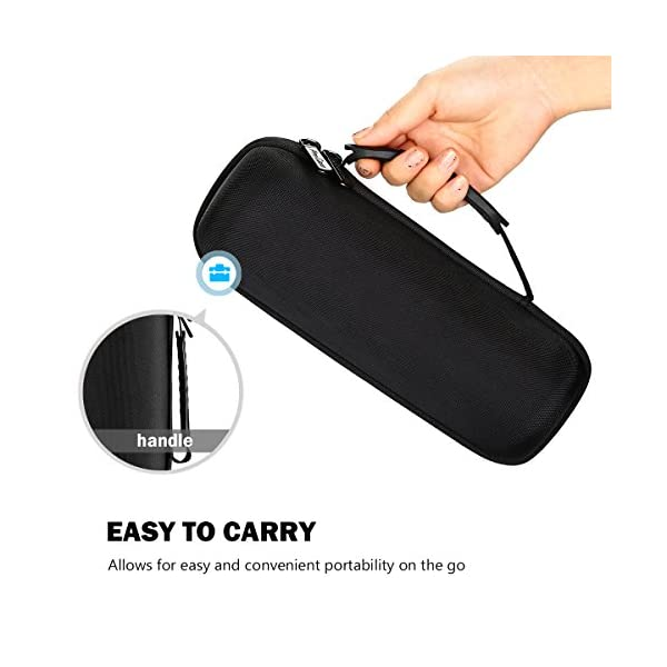 bose soundlink revolve+ case, procase hard eva storage travel bag carrying case for bose soundlink revolve+ plus…