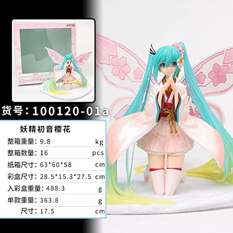 KWELJW Miku Butterfly Leprechaun Cherry Blossom Hatsune Miku A