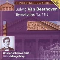 Beethoven: Sym Nos 1 & 3 by MENGELBERG / CONCERTGEBOUW ORCH