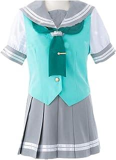 Love Live! Sunshine!! Aqours Matsuura Kanan Ohara Mari JK School Uniforms Cosplay Costume