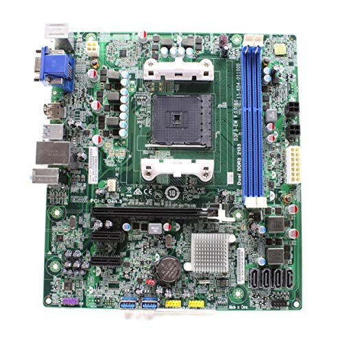 MEDION Akoya E4000 Mainboard D3F3-EM V.1.0 AMD A78 Micro ATX Sockel FM2
