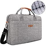 E-Tree 17.3 inch Laptop Sleeve 17 inches Shockproof Foam Computer Shoulder Bag,Grey