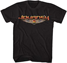 Journey Rock Band Music Group Scarab Beetle Logo Adult T-Shirt Tee