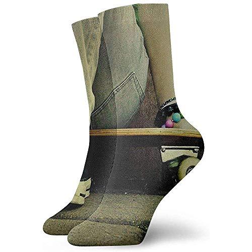Be-ryl Calcetines de algodón Calcetines Deportivos de compresión Calzado de Skate Jeans...