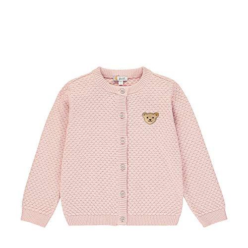 Steiff Strickjacke Gilet, Rose (Powder Pink 7010), 3 Ans Bébé Fille