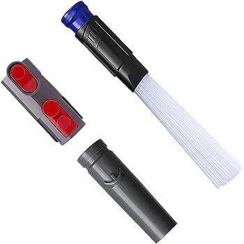 MEGICOT - Juego de cepillo universal para aspiradora + adaptador convertidor de repuesto para aspiradora Dyson V6 V7 V8 V10, herramientas de limpieza para teclados, cajones, coche, esquinas, mascotas: Amazon.es: Hogar