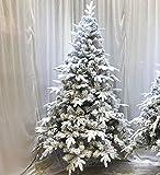 BHDVA Christmas Tree Christmas Snowflake New PE Velvet Christmas Tree Spray Snow Christmas Tree Snowflake Tree Decoration Hotel Mall Layout 180cm Un