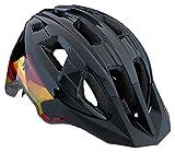 Mongoose Kids Mountain Bike Helmet Zone Collection, Black Lines