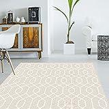 alfombra vinilo salon beige