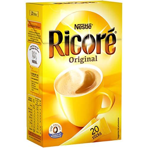 Nestlé Ricoré Original Substitut de Café Boîte de 20 Sticks x 3...