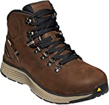 KEEN Utility Men's Manchester 6' Alloy Toe Waterproof Work Boot Construction Shoe, Cascade Brown/Brindle 10.5 medium US