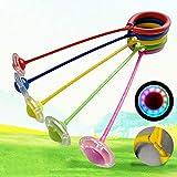 jtxqy Knöchel Skip Ball, Kinder blinkend Springseil Ball Spaß Skip Seilball Spielplatz Sport Kits
