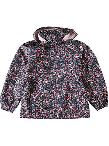 NAME IT Mädchen Windjacke Regenjacke Übergangsjacke NITMELLO Flower 13141093 Dress Blues Gr.128