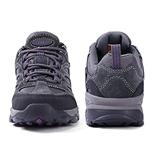 TFO Women's Air Cushion Hiking Shoes Breathable Running Outdoor Sports Trail Trekking Sneakers Gray1 8