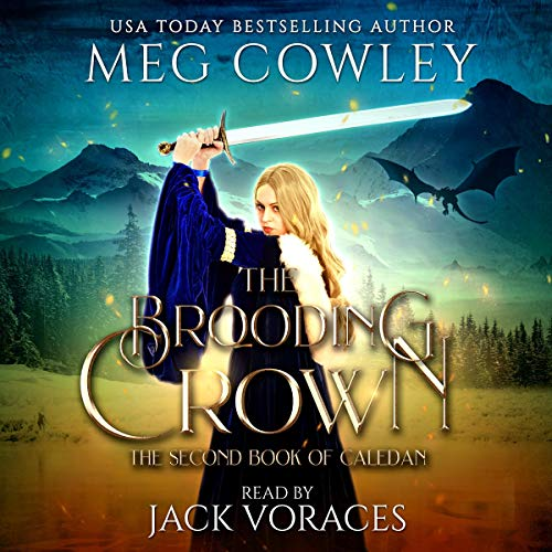 The Brooding Crown: An Epic Sword & Sorcery Fantasy audiobook cover art