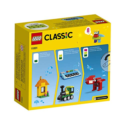 LEGO 11001 Classic Bricks and Ideas Building Set with Eyes, Wheels and Hinges for Kids 4+ Years Old