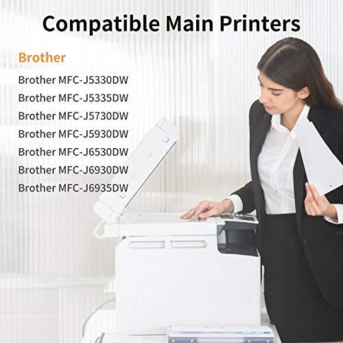 IUBEST LC3219XL Compatible con Brother LC-3219XL LC3217 Cartuchos de tinta Multipack para Brother MFC-J5330DW MFC-J5335DW MFC-J5730DW MFC-J5930DW MFC-J6530DW MFC-J6930DW MFC-J6935DW, Paquete de 4