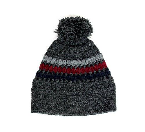 BMC Headwear - Bonnet Pompon - 2 Coloris - Homme ou Femme The Heavenly - Charc-Navy-Port