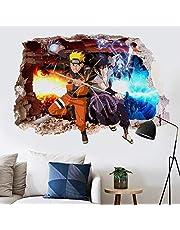 Muurstickers Naruto muurstickers zelfklevende behangstickers College studentenslaapzaal woonkamer slaapkamer nachtkastje muurstickers behang