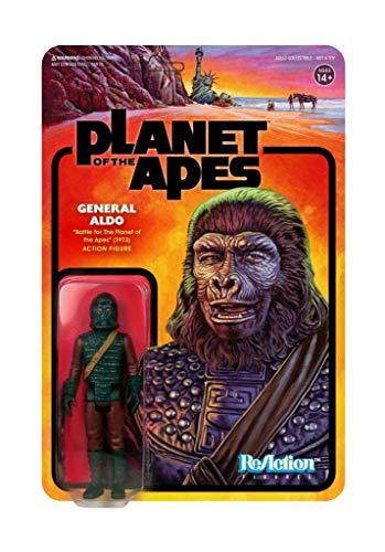 Figura General Aldo 10 cm. La guerra del planeta de los simios. ReAction. Super7