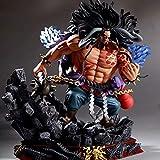 LINRUS Anime One Piece Four Emperors Beast Pirate KAIDO PVC Figura de Acción Modelo Colección de Jug...