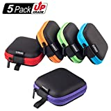 SUNGUY Portable Square Earphone Carrying...